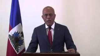 VIDEO: Haiti - Mesaj President Martelly pou Ouvèti Lekòl La