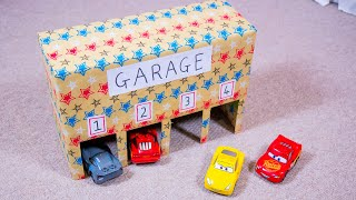 Easy LEGO DUPLO Car Garage Game to Learn the Alphabet and Numbers! Activity Ideas & DIY for Kids