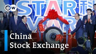 China opens new STAR stock market | DW News