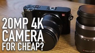 Sony Sensor in a Budget 20 MP/4K Mirrorless MFT Camera | YI M1 Overview