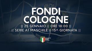 Serie A1M [15^]: Fondi - Cologne 22-21