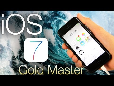 NEW Install iOS 7 GM Early FREE How To Gold Master Without UDID iPhone 5.4S iPad & iPod Touch