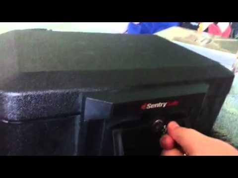 Unlocking sentry safe without keys!!