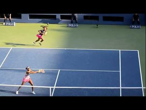 US OPEN 2012 - Williams Sisters Doubles