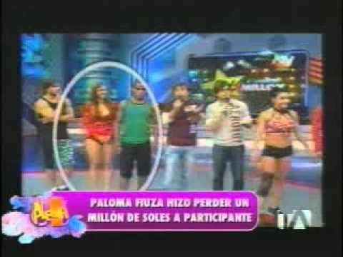 Paloma Fiuza hacer perder 1 millón de soles a participante