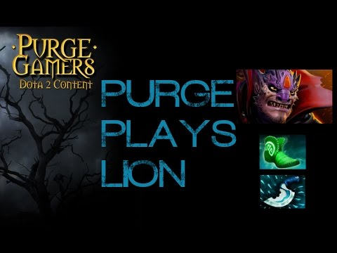 Dota 2 Purge plays Lion