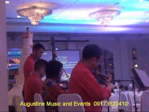 WEDDING STRING MUSIC ENSEMBLE PHILIPPINES | ALL MY LIFE | AUGUSTINE MUSIC AND EVENTS