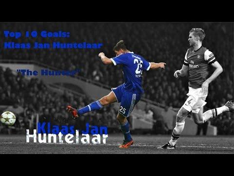 """Top 5 goals - Klaas Jan """"The Hunter"""" Huntelaar"""