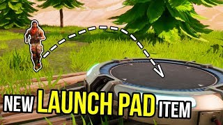 NEW LAUNCH PAD ITEM | Fortnite Best Stream Moments #4 (Battle Royale)