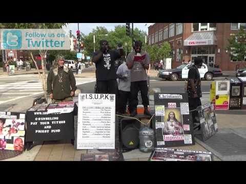 (MICHAEL BROWN)THE WHITE MAN is THE WICKED, HE has THE MARK of CAIN - ISUPK HEBREW ISRAELITES