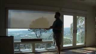 QMotion Battery Motorized Silent Dual Screen and Blackout Shades by 3 Blind Mice San Diego
