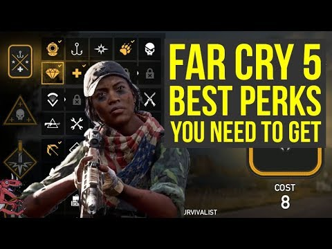 Far Cry 5 Tips and Tricks Best Perks TO GET AS SOON AS POSSIBLE (Far Cry 5 perks - Farcry 5)