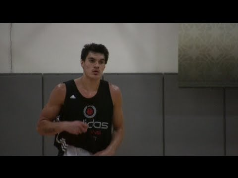 Steven Adams Oklahoma City Thunder #12 Pick - 7 Footer from Australia - Kevin Durant's new teammate