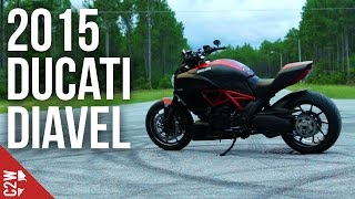 2015 Carbon Ducati Diavel   First Ride