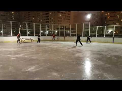 Дворовая классика. Хоккей