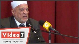 بالفيديو.. أحمد عمر هاشم: الثقافة الإسلامية سلاحنا لمواجهة الغزو الفكرى