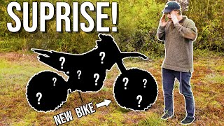 I Bought My Editor a DIRT BIKE! Scavenger hunt to find it!