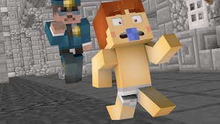 Minecraft - WHO'S YOUR DADDY? - BABY BLOWS UP THE PRISON !?
