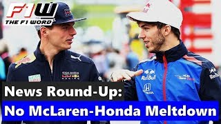F1 News Round-Up: No McLaren-Honda Meltdown, Ocon On Williams Radar and Vandoorne Joins Formula E
