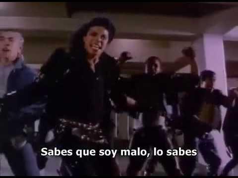 Michael Jackson Bad (traduccion Español)-version Completa-parte2 video