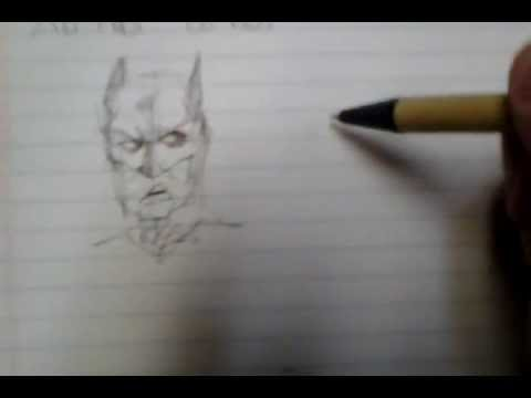Batman and Joker speed sketch