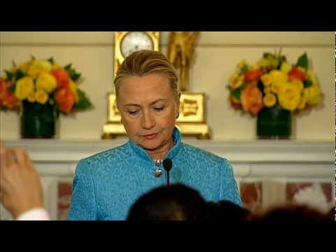 Secretary Clinton Delivers Remarks at a Reception Marking Eid ul-Fitr