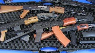 Gun Toys AK-47 Kalashnikov Airsoft Electric Gun ! Metal & Plastic Military Guns Toys