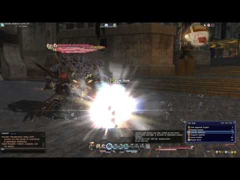 FFXIV: ARR Full Intro - Lalafell Dragoon in Gridania