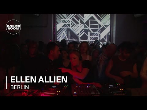 Ellen Allien 70 min Boiler Room Berlin DJ Set Music Videos