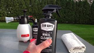 Car Guys Detailing Wheel Cleaner Review | Auto Fanatic