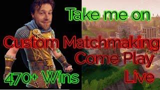 Fortnite Scrims | Fortnite Battle Royale Live | Custom MatchMaking Open Lobby Scrims Live PS4