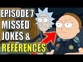 Rick And Morty Season 3 Episode 7 Easter Eggs & Missed Jokes