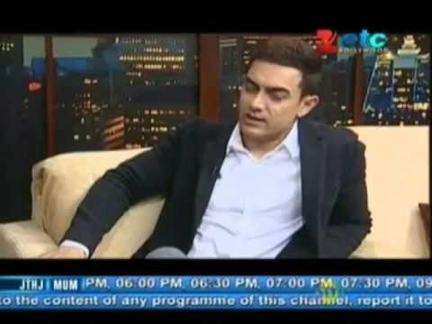 Aamir Khan With Komal Nahta Part - 1