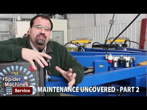 Maintenance Uncovered Part 2 - Robert Barnes of Spider Machines