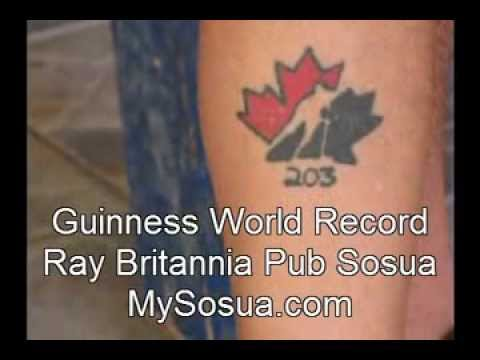 Ray Owner of Britannia Pub Restaurant in Sosua has Guinness World Record