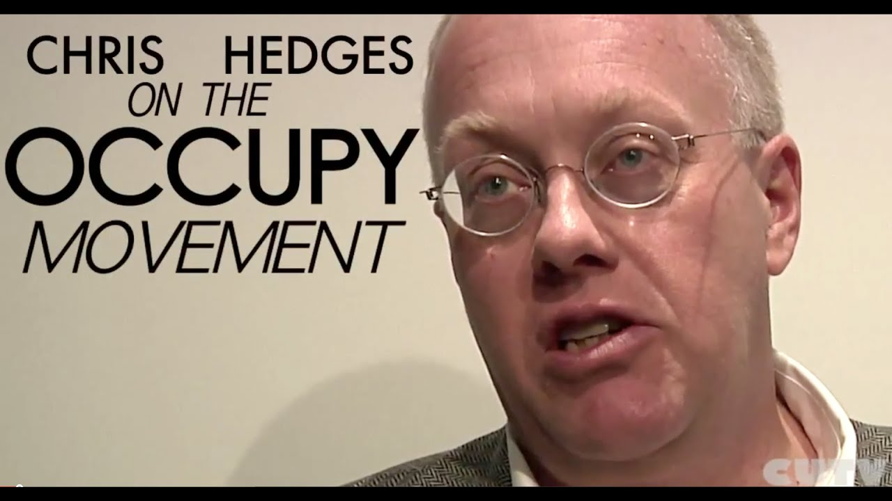 Chris Hedges on Occupy Black Bloc conservatives and more.