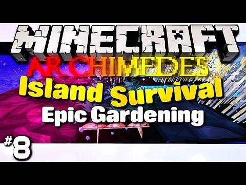 Minecraft Archimedes Island - #8 Epic Gardening (Survival Series)