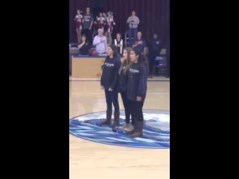 Sacramento waldorf school 8th grade national anthem - 03/05/2014