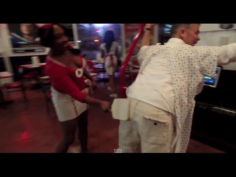 Grown Man Spanking At Heart Attack Grill Las Vegas