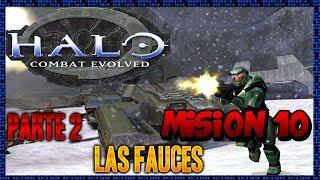 Halo Combat Evolved - Misión 10 - Las Fauces (Parte 2 Final)