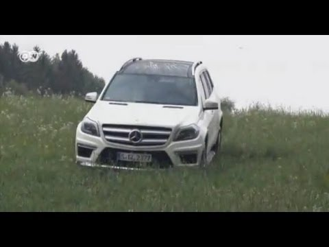 Mercedes GL 500 плохих дорог не боится — новый тест-драйв