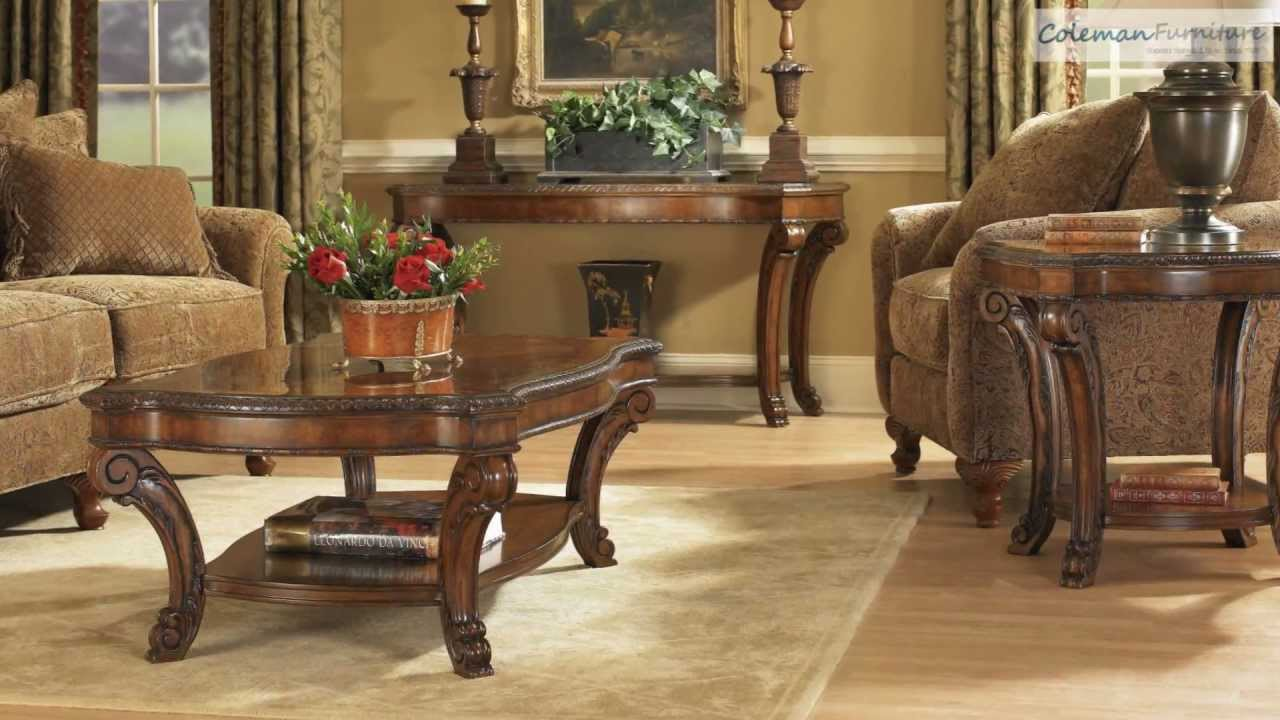 Old World Occasional Table Collection From Art Furniture Youtube