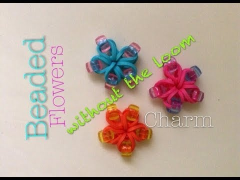 how to make a rainbow loom heart charm without loom