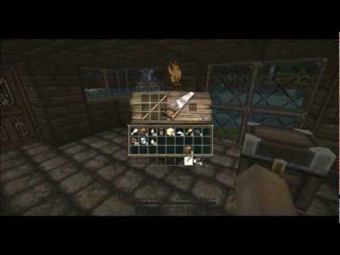 comment faire une canne a peche sur minecraft