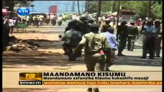 News Maandamano Kisumu