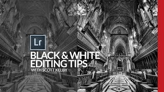 Lightroom Black & White Editing Tips