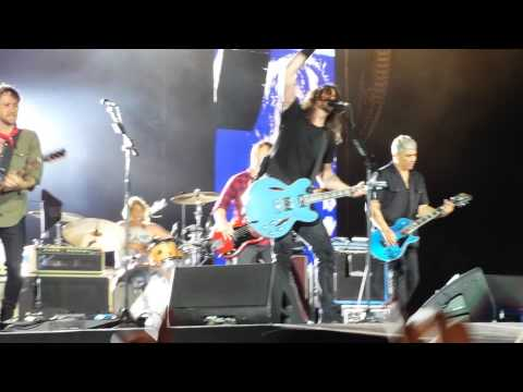 Foo Fighters Perth NIB Stadium-Times Like These