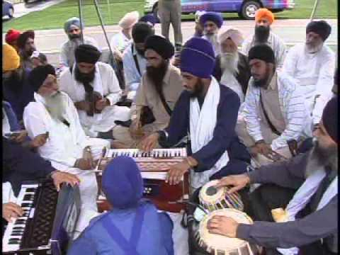 Akhand Kirtani Jatha Toronto at Gurdwara Rochester New York. August 15th, 2010.