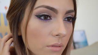 Tutorial usando maquillaje y brochas económicas | Anna Sarelly