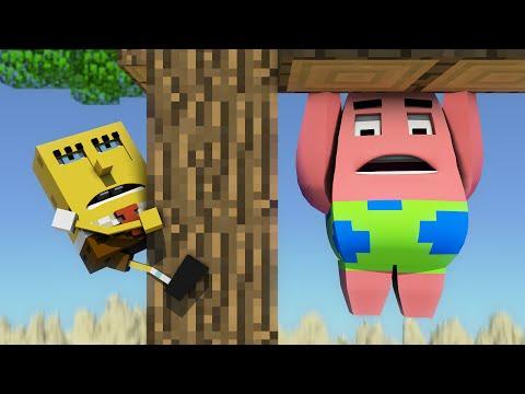 Spongebob in Minecraft 3 - Animation